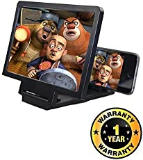 Kitchen Point Mobile Phone 3D Screen Magnifier 3D Video Screen Amplifier Eyes Protection Enlarged Expander Compatible with Xiaomi, Lenovo, Apple, Samsung, Sony, Oppo, Gionee, Vivo Smartphones (One Year Warranty)