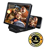 #9: Kitchen Point Mobile Phone 3D Screen Magnifier 3D Video Screen Amplifier Eyes Protection Enlarged Expander Compatible with Xiaomi, Lenovo, Apple, Samsung, Sony, Oppo, Gionee, Vivo Smartphones (One Year Warranty)