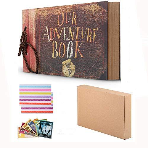 Nuestro libro aventuras Pixar Up hecho mano DIY álbum