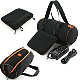 XMY Soft Travel Portable Protective Carry Case Cover Pouch Sleeve Storage Bag Box for JBL Xtreme Wireless Bluetooth Speaker