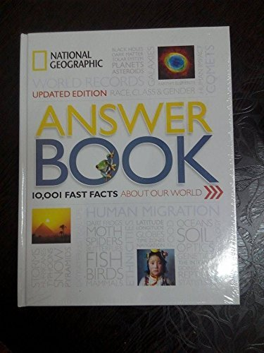 Answer Book,10001 Fast Facts About our World (First Edition,2016)