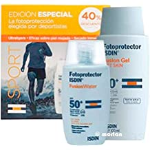 Isdin PACK Fotoprotector SPF50+ Fusion Water, 50ml + Isdin Fotoprotector SPF50+ Fusion Gel, 100ml
