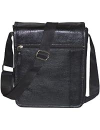 Style98 100% Genuine Leather Crossbody Messenger Tablet Bag||Handbag||Hard Disk Bag||Neck Pouch||Shoulder Bag...