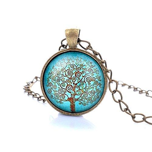 lureme-serie-gemma-tempo-antico-bronzo-catena-albero-della-vita-pendenti-a-disco-collana-per-le-raga
