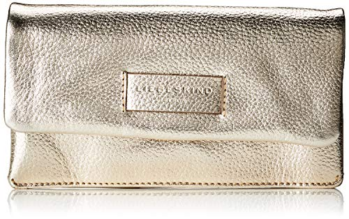 Liebeskind Berlin Damen Essential Slam Wallet Large Geldbörse Gold (Moonlight), 3.0x11.0x19.0 cm