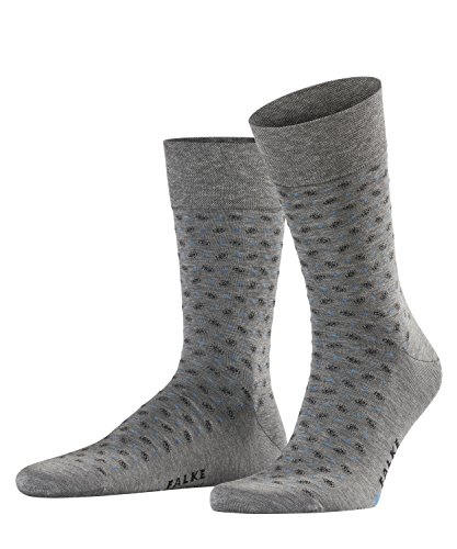 FALKE Herren Socken Sensitive Jabot, Steel Mel, 39-42