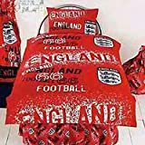England Rotary Duvet Cover Set, Red, Double