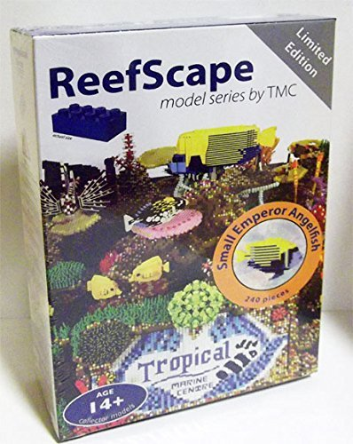 LEGO RS0209 ReefScape Model Series 2 Custom LEGO Small Emperor Angelfish NEW
