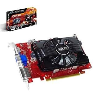 Asus HD6670 Carte graphique AMD Radeon HD 6670 PCI-Express 1GB DDR3