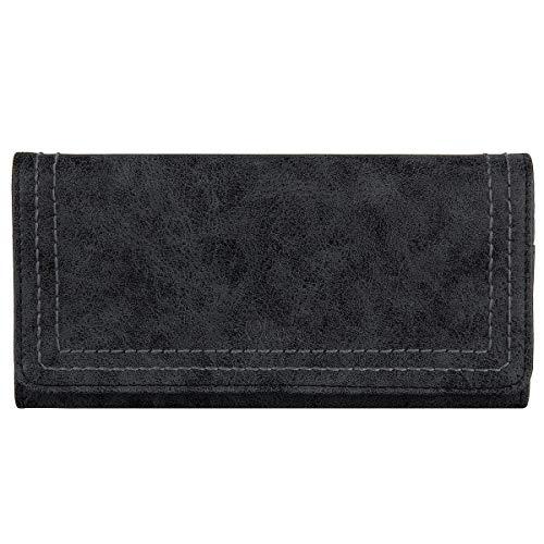 s.Oliver Geldbörse Portemonnaie Geldbeutel Brieftasche Börse 39.805.93.8847, Farbe:Schwarz