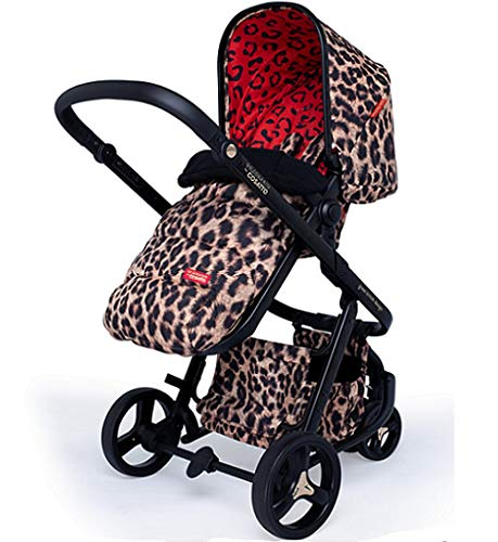 Cosatto Paloma Giggle 3 Travel Sytem Hear us Roar with Car Seat Bag Footmuff & Raincover Cosatto Includes - Pushchair, Carrycot, Port Car seat, adaptors, Change bag, Footmuff and Raincover All round suspension Suitable from birth carrycot and Car seat 5
