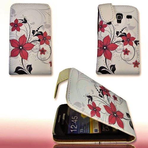 Custodia Flip Style-Design No. 2-Custodia Cover Case per Samsung S7500Galaxy Ace Plus