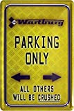 Wartburg Parking Only Ost Kult Car Auto Ostalgie 20x30 cm Blechschild 784