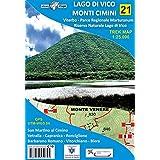 Lago di Vico, Monti Cimini. Viterbo, Parco regionale Marturanum e Riserva naturale Lago di Vico. Carta escursionistica 1:25.0