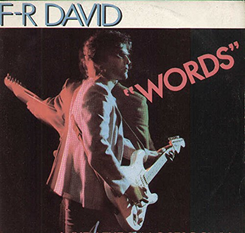 "F.R. David: Words [7"" Single]"