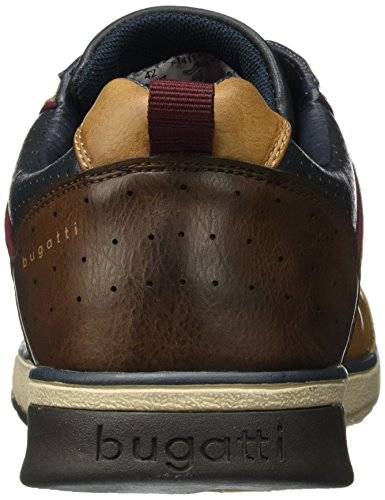 Bugatti K1411pr6n, Sneakers Basses Homme Marron (Cognac/ Blau)
