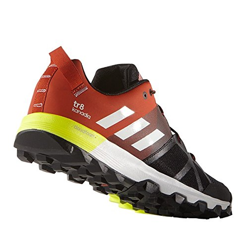 adidas Kanadia 8 TR M, Chaussures de running entrainement homme gris - Gris (Brebas / Ftwbla / Chiart)