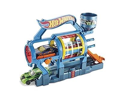 Hot Wheels Ausklappspielset Turbo-Waschanlage von Mattel