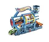 Hot Wheels Ausklappspielset Turbo-Waschanlage