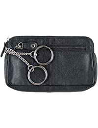 """Sattler + Co. """"BIG KEY"""" Schlüsseletui, 105890 002, Damen und Herren Schlüsseletui, Leder, schwarz"""