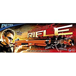 Petron 162/3 Carabine à fléchette Mixte Enfant, Orange/Noir