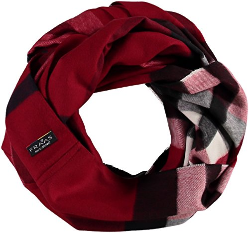 FRAAS Damen Schal Snood Rot (Rot 360), One Size