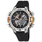 Calypso Kunststoff PUR Jugend Uhr K5586/4 Armbanduhr schwarz Digital D1UK5586/4