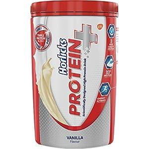 Horlicks Protein+ Health and Nutrition Drink – 400 g Pet Jar (Vanilla)