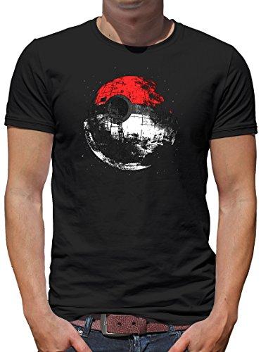 TLM Death Poke T-Shirt Herren XXXL (Pac Halloween Kostüm Man)
