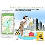 KOBWA Smart Watch für Kinder, 0,96 Zoll GPS Tracker(Wecker Stellen, Telefonieren, GPS Orten, Fern Reden, Schritte Zählen Usw.) für IPhone, Samsung - 2