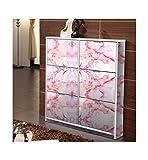 AdornHome-Sticker Küchenschrank Aufkleber selbstklebend öl- und hitzebeständig Schrank renoviert Aufkleber einfache Marmor Muster Kleiderschrank Aufkleber 60X300cm