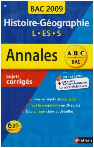 ANNAL 09 ABC SUJ COR HIS GEO L