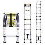 Myifan scala telescopica multiuso scala telescopica in alluminio di estensione estendere Portable scaletta pieghevole scaletta norme EN131e CE