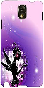 Snoogg Fairy Silhouette On Abstract Background Fkayxusu Designer Protective B...