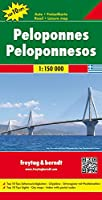 Peloponnese: FB.G094 (Road and Leisure Time Map)