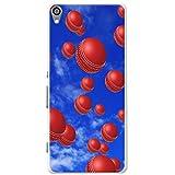 Es regnet Cricketbälle Hartschalenhülle Telefonhülle zum Aufstecken für Sony Xperia XA Ultra