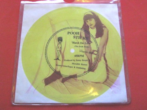 Pooh Sticks Hard On Love flexi Woosh WOOSH007 VG/EX 1980s flexidisc in pvc sleeve with gatefold insert Flexi-sleeve