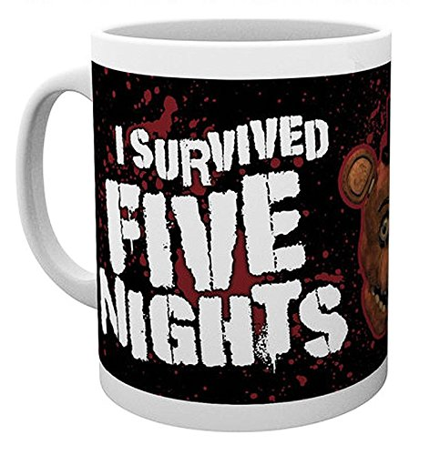 Five Nights at Freddy's Tasse I Survived Five Nights