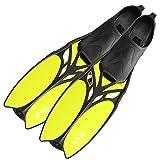 DF-Belize Schwimmflossen lang, yellow, 45/47