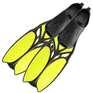 DF-Belize Schwimmflossen lang, yellow, 37/38