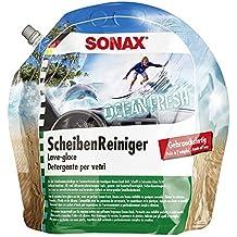 SONAX 128301 líquido limpiaparabrisas Listo para ser Utilizado 3 L Verano - Líquidos limpiaparabrisas (Listo