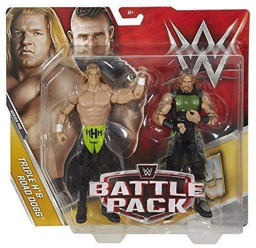 WWE Pack De Lucha Serie 45 Figuras De Acción - Triple H & Carretera Dogg generación tenía X'