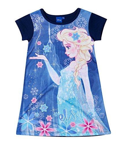 Disney Die Eiskönigin Elsa & Anna Mädchen Kleid - lila - (Kleid Disney Elsa Frozen)