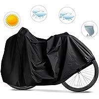 Housse de Protection Vélo, Mopalwin Housse pour Vélo, Couverture de Bicyclette Etanche à la Pluie, Poussière, Soleil ( 190x65x98CM)- Noir