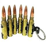 Schlüsselanhänger mit sechs MG-Patronen, M60 Patronengurt