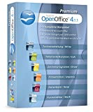 Produkt-Bild: Open Office Premium 2018 Home Student Professional Edition - Inkl. gedrucktes Handbuch / 20.000 Office Vorlagen / 1.000 Schriften / Kompatibel mit Word, Excel, Powerpoint für Windows 10 8 7 Vista und XP