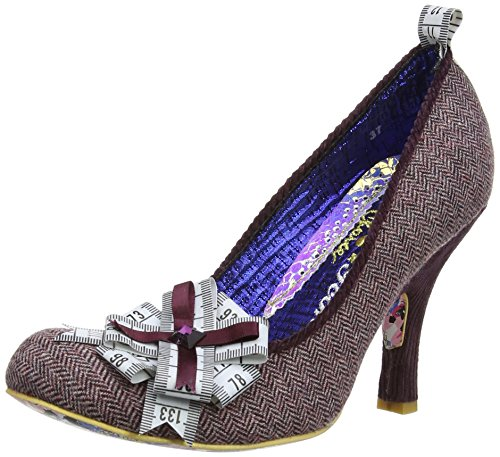 Irregular Choice Tape Tastic Damen Pumps Violett