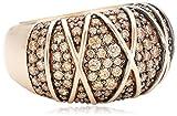 Joop Damen-Ring 925 Sterling Silber Zirkonia Mosaics rosa Gr.57 (18.1) JPRG90724C570