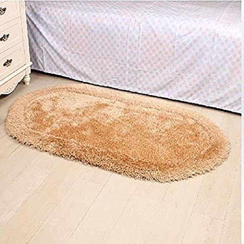 New day-Superfine seta elastico filo ovale tappeto / camera da
