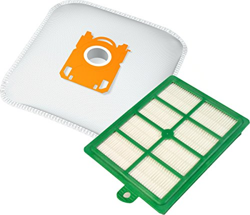 Staubsaugerbeutel-Filter-Set mit 10 Staubbeutel + 1 HEPA-Filter geeignet für geeignet für AEG-Electrolux, Philips, Tornado, uvm.